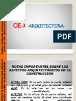 3Unidad I METRADOS, Arquitectura