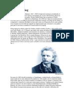 Biografia Edvard Grieg