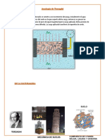 (1) Analogía de Terzaghi