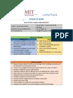 dissertation scheme of work