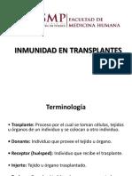 Inmnidad de trasplantes USMP 201777