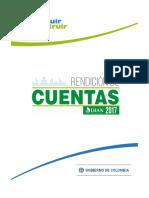 Informe Rendicion Cuentas 2017 V1