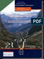 Geología - Cuadrangulo de Urubamba (27r) y Calca (27s),1996