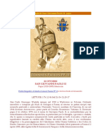 Liturgia Giovanni Paolo II