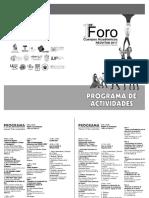 Programa Final CA y GI 2017 REDVITAB
