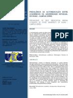 Avaliação Da Automedicação Praticada Por Estudantes Universitários UEG - Campus Ceres