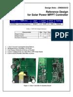 Solar Power MPPT