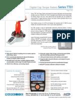 DataSheetTT01 Mark 10