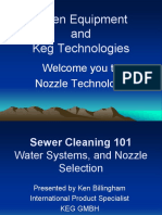 150205 Sewer Cleaning 101 Water Systems Nozzle Selection