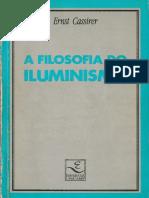 Ernst Cassirer - A Filosofia Do Iluminismo