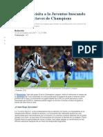 Barcelona Visita a La Juventus Buscando Su Pase a Octavos de Champions