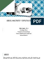 Abuso, Maltrato y Explotación Infantil (2)