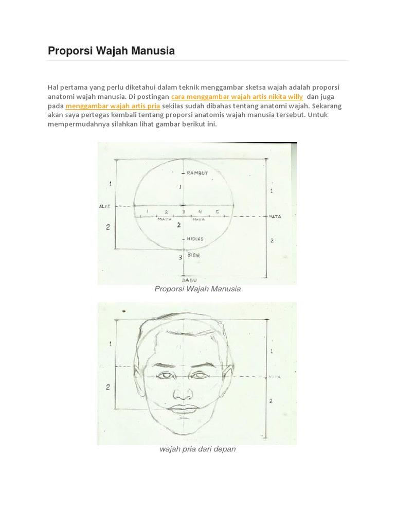 Proporsi Wajah Manusia