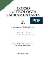 Catella Alceste - La Reconciliazione en Corso Di Teología Sacramentaria
