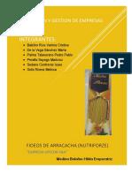 Formacion y Gestion Proyecto Fideos