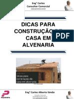 Dicas Para Construção de Casa Em Alvenaria