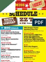 2010 Oregon State Fair Full Schedule