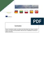curriculum teil 1 deutsch
