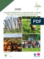 Limpatto dell'agricoltura supportata dalla comunità