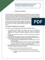 Procédure Équipement Collectif 15 Juin 2015