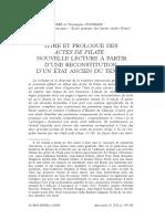 Furrer, Guignard - Titre et Prologue des Actes de Pilate-Nouvelle lecture a partir d'une reconstitution d'un etat ancien du texte - 2013.pdf