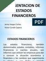 Presentacion de Estados Financieros