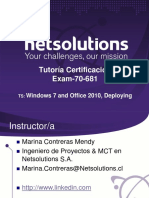 Tutoria Examen 70 681(Oct2012 Microsoft)