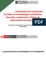 CTT202 Enfoque Cuantitativo, Encuestas y Guias de Observacion