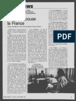 Interview de Robert Mugabe dans Jeune Afrique du 29 octobre 1980