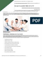 Habilidades Personales Que No Pueden Faltar en Tu CV _ Modelo Curriculum