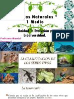 Clasificación taxonómica 1° medio