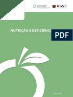 Nutrição e Deficiências