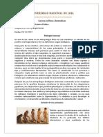 Bilogia Humana Antropologi
