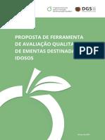 Proposta de Ferramenta de Avaliacao Qualitativa de Ementas p IDOSOS