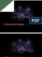 tema 2.1 Organización del Procesador