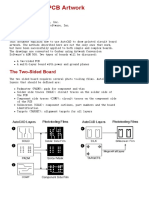 Note - AutoCAD for PCB Artwork