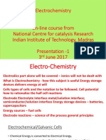 Lecture 1 Basic Electrochemistry