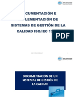 Documentación e Implementación 17025