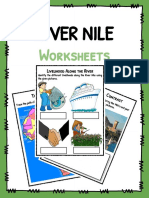 Sample River Nile Worksheets