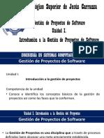 Unidad I. Introduccion a la Gestion de proyectos.pptx