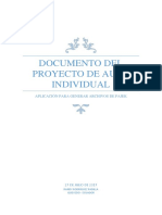 Documento Del Proyecto de Aula Individual