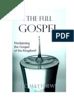 The Full Gospel - Saved but Stuck -Sample Chapter
