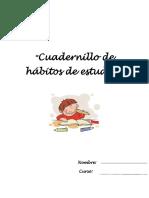 Cuadernillo Estrategias Habitos Estudio