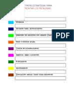 Colores. Distintas Estrategias Para Solucionar Los Problemas