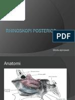 Rhinoskopi Posterior