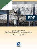 ¿Duros Con El Delito? Populismo e Inseguridad en América Latina
