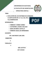 EVOLUCIÓN-DE-LOS-SISTEMAS-DE-ADHESIÓN-CLASIFICACIÓN-DE-LA-1era2525252c-2da2525252c-3Era2525252c-4ta2525252c-5Ta2525252c-6ta2525252c-7ma-GENERACIÓN-1-1.docx