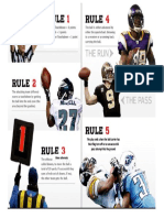 football poster- 5 basics of football