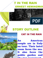 Cat in the Rain Story Outline