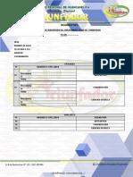 Ficha de Inscripción 2017 Sedes